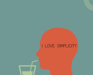 simplicity makes you happy