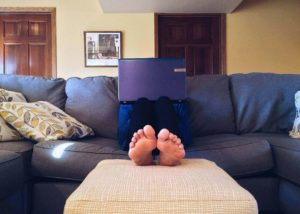 separating work and home can help you manage entrepreneurial stress